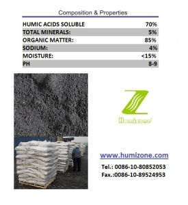 Humizone Quick Release Humic Fertilizer: Sodium Humate Powder pictures & photos