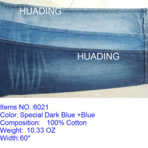 Wholesale Denim Woven Fabric for Jeans (6021) pictures & photos