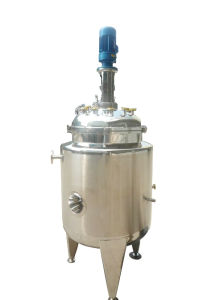 Stainless Steel Sanitary Agitator Tank pictures & photos