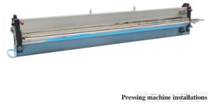 Water Cooled Hot Press Machine for Conveyor Belt Joint Procedure pictures & photos