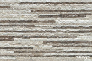 3D Rustic Ceramic Stone Exterior Wall Tile for Outdoor (333X500mm) pictures & photos