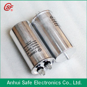 Oval Type Plastic Case Air Condition Cbb65 AC Capacitor pictures & photos