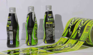 High Shrinkage Rate PVC Film for Beverage Label (0.04-0.05mm thickness) pictures & photos