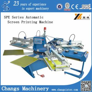 Automatic T-Shirt Screen Printing Machine Spe-104/8 pictures & photos