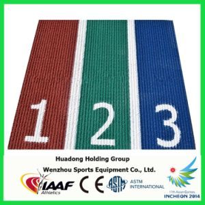 Outdoor Sports Flooring Rubber Running Track Surface pictures & photos