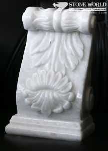 White Tasos Marble Carving for Columns & Art Collection (SC-006) pictures & photos