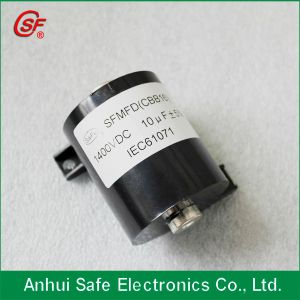 Long Lifespan High 1250VDC 0.47UF 1UF 2UF 3UF Capacitor pictures & photos