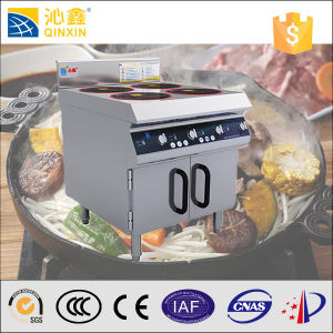 Freestanding One Burner Restaurant Commercial Induction Cooker pictures & photos