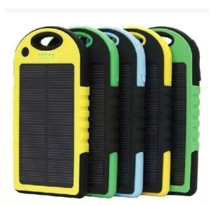 Waterproof Solar Power Bank 5000mAh with LED Light (SC-01) pictures & photos