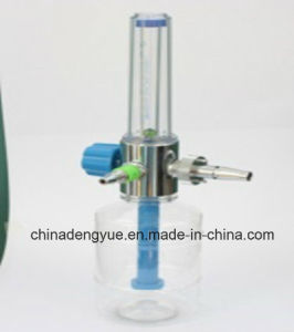 Medical Oxygen Flowmeter with Hunidifier pictures & photos