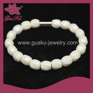 Simple White Tourmaline Beads Bracelet (2015 Tmb-205) pictures & photos