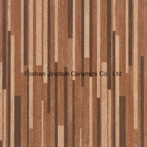 Deep Mottled Bamboo Style 600*600 Ceramics Rustic Tile pictures & photos