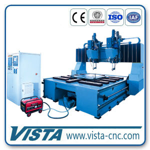 CNC Flange Drilling Machine (DM4540/2B) pictures & photos