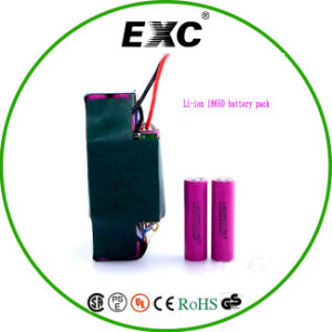 Scooter Battery Pack, 25p 18650 Li-ion Battery Pack Lithiumbattery for Two Wheel pictures & photos