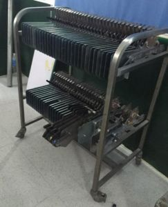 Sony SMT Feeder Rack Trolley for PCB Turnkey Service pictures & photos