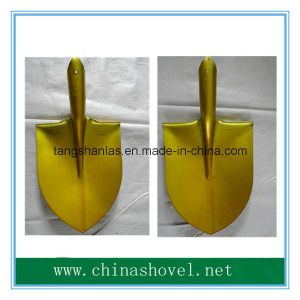 Shovel Best Quality Agricultural Golden Color Shovel Head Ap pictures & photos