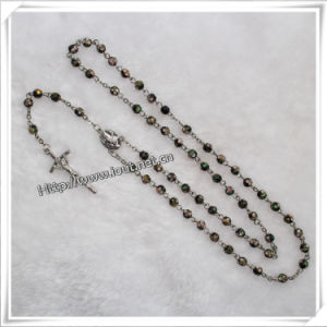 Glass Beads Rosary, Rosary Glass Beads, Cheap Glass Rosary (IO-cr331) pictures & photos