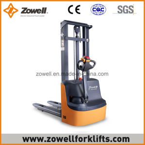 Electric Stacker with 1.2 Ton Load Capacity 1.6m Lifting Height