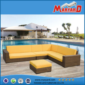 New Design Outdoor Patio Rattan Daybed Furniture Manufacturer pictures & photos