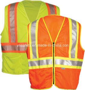 En20471 Class 2 Reflective Safety Vest for Work pictures & photos