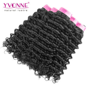 High Quality Very Soft Deep Wave Virgin Brazilian Hair Extension pictures & photos