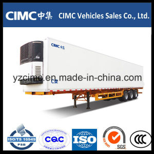 Cimc 13m Refrigerated Container Semi Trailer with Carrier Cooling pictures & photos
