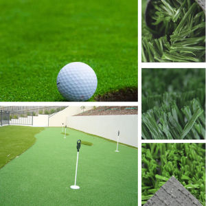 Green Artificial Football Carpet Grass pictures & photos