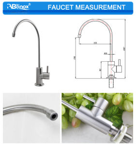Pure Water Long Neck Kitchen Faucet (AB126) pictures & photos