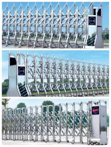 Good Quality Automatic Folding Sliding Gate pictures & photos