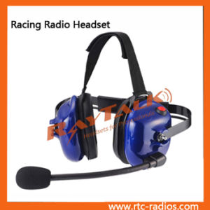 Behind The Head Noise Cancelling Racing Radio Headset pictures & photos