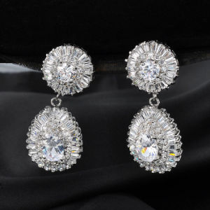 18K Gp Fashion Gold Dangle Drop Earring pictures & photos
