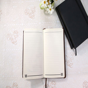 Customized Notebook with PU Leather with a Silk for Office Supply pictures & photos