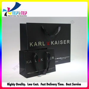 Paper Material and Stamping Printing Handling Luxury Gift Bag pictures & photos