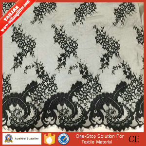 2016 Tailian New Style Garment Black Lace Fabric pictures & photos