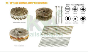 Pneumatic Torx Head Wire Collated Screw for Furnituring, Industries pictures & photos