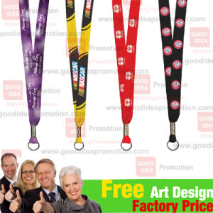 Promotional Neck Strap with Client Logo pictures & photos