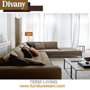 Modern Home Furniture Living Room L Shape Sofa pictures & photos