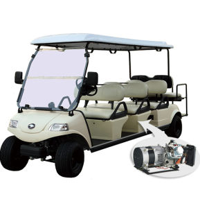 Express with Hybrid Generator 8 Seater Electric Golf Cart pictures & photos