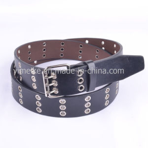 Wholesale OEM Factory Casual Snap Buckle PU Belt for Man pictures & photos
