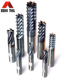 HRC65 Solid Carbide Power Multi-Flute End Mills for Harden Metal pictures & photos