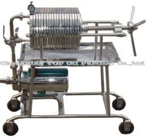 Portable Stainless Steel Used Cooking Oil Filter Press (BAS) pictures & photos