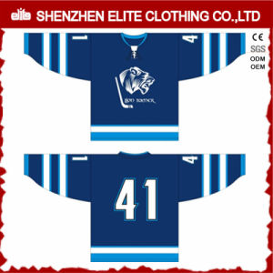 Goalie Cut Sublimation Ice Hockey Jersey Custom pictures & photos