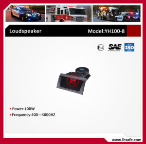 100W Loudspeaker for LED Lightbar (YH100-1) pictures & photos