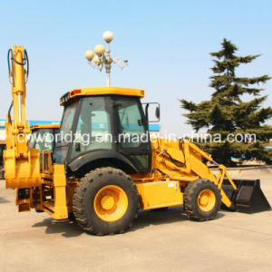 4 Wheel Drive Slide Boom Backhoe pictures & photos