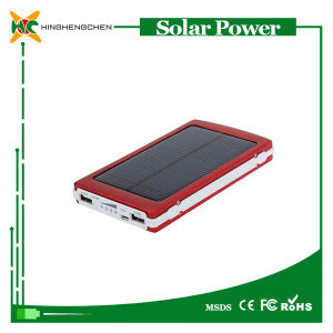 10000 mAh Solar Power Bank with LED Light pictures & photos