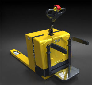 2t Electric Automatic Power Pallet Truck pictures & photos