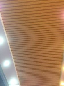 Prepainte Wooden Color Aluminum U-Ceiling pictures & photos