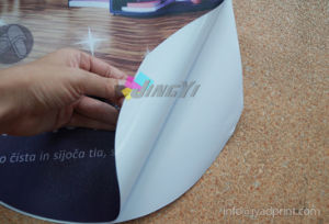 White Self-Adhesive PVC Vinyl Sticker High Resolution Digital Printing pictures & photos
