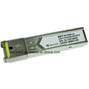 3rd Party Bsfp-S155m-Lu Fiber Optic Transceiver Compatible with Cisco Switches pictures & photos