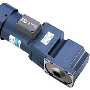 Single Phase Right Angle Electric AC Gear Motor pictures & photos